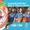La juniorchestra per il policlinico